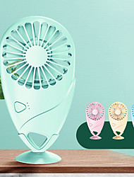 cheap -Mini Portable Pocket Fan USB Charge Handheld Silent Air Cooler Outdoors Travel Rechargeable Cooling Fans For Summer Home