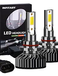 cheap -Infitary High Brightness 2pcs 9005 COB Chip LED Car Headlight 72W 6500K Auto LED Car Lights