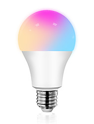 cheap -Smart Life APP 9W 850LM Smart WiFi Bulb LED RGBCW Color Changing work with Alexa and Google Home Assistant No Hub Required A19 Multicolor Light