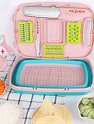 cheap -11 PCS Multifunction Vegetable Slicer Mandoline Fruit Vegetable Cutter Carrot Potato Grater With Blade Kitchen Accessories