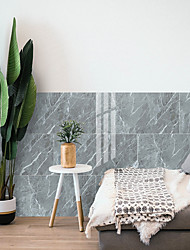 cheap -3D self adhesive wall pasted with PVC thickened ceramic tile pasted with marble like floor pasted with TV background wall sticker