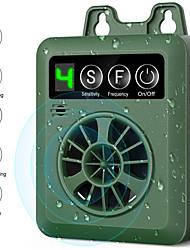 Недорогие -Ультразвуковое устройство контроля коры домашних собак модернизировано перезаряжаемое цифровое управление корой на открытом воздухе анти лай