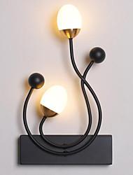 رخيصةأون -أدى شخصية خلاقة غرفة نوم بسيطة مصباح السرير غرفة الطعام خلفية جدار الفن مصابيح 8W