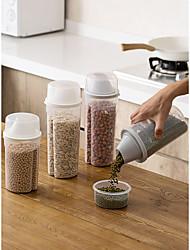 Недорогие -многозерновой герметичный резервуар для хранения продуктов питания пластиковые сушеные фрукты закусочная коробка