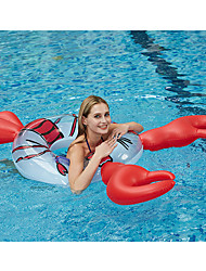 cheap -Swim Rings Pool Float Pool Floaties Fun Inflatable Giant Soft Plastic Summer Lobster Vacation Beach Swimming Pool Party Men's Women's Adults