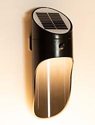 cheap -2pcs 1pcs Radar Sensors LED Solar Light Outdoor Solar Lamp with PIR Motion Sensor Solar Powered Waterproof Wall Light for Garden Yard Path Decoration
