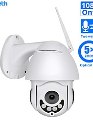 cheap -DIDSeth 1080P WIFI IP Camera PTZ 5X Optical Zoom Speed Dome ONVIF CCTV Outdoor Waterproof 2MP Two Way Audio Camera iCsee