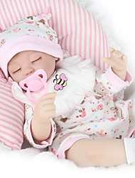 cheap -Reborn Baby Dolls Clothes Reborn Doll Accesories Cotton Fabric for 17-18 Inch Reborn Doll Not Include Reborn Doll Elephant Dog Bee Soft Pure Handmade Girls' 5 pcs