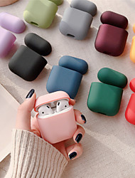 cheap -Solid Color Earphone Case For AirPods1 AirPods2 Headphone Case (AirPods Charging Case Not Included)