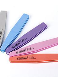 Χαμηλού Κόστους -1 pc τυχαίο χρώμα ρόμβος σφουγγάρι νυχιών νυχιών ρυθμιστικό νυχιών πλένεται λείανση λείανσης λείανση πεντικιούρ εργαλεία νυχιών