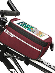 cheap -Cell Phone Bag Bike Handlebar Bag 6.8 inch Cycling for Black Blue Red Bike / Cycling