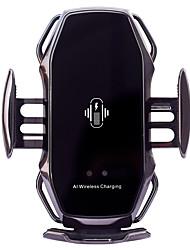 Недорогие -держатель телефона для автоматической фиксации автомобиля и.и. интеллектуальное беспроводное автомобильное зарядное устройство держатель автомобильное зарядное устройство 15 Вт быстрая зарядка для