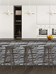 cheap -Limestone brick pattern PVC simulation self-adhesive DIY decorative wall stickers bar stickers
