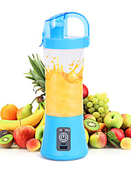 cheap -400ml Mixer Portable Fruit Juicer Vegetable Fruit Juice Machine Handheld Mixer Juice Maker Electric USB Rechargeable Smoothie