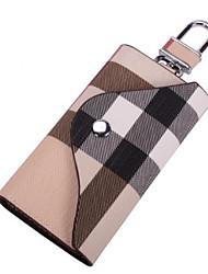 cheap -Women's PU Leather Wallet 2020 Lattice Black / Beige / Coffee