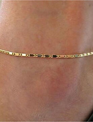 cheap -Leg Chain Simple Women's Body Jewelry For Date Alloy Gold Silver