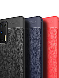 cheap -Case For Huawei Huawei  P40/P40 Pro/P40 Lite/P30/P30 Pro/P30 Lite/P20/P20 Pro/P20 Lite/Mate 30/Mate 30 Pro/Mate 20/Mate 20 Pro Shockproof / Ring Holder Back Cover Solid Colored PU Leather / TPU