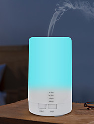 cheap -Home Car Portable Mini 125ml Ultrasonic Air Humidifier USB Charging 7 Color LED Light Aroma Essential Oil Diffuser With 4 Timer