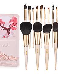billiga -Professionell Makeupborstar 15st Professionell Fullständig Täckning Bekväm Trä / Bambu för Rougeborste Foundationborste Sminkborste Ögonskuggsborste / # / # / # / # / #