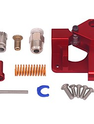 cheap -Cr10 Aluminum Upgrade Dual Gear Mk8 Metal Extruder Kit for CR-10S PRO Ender-3 Btech 3d Printer Feed Double Pulley Extruder