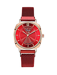 cheap -Women's Quartz Watches Quartz Stylish Fashion Adorable Analog Black Blue Red / One Year / One Year