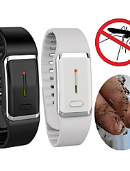 cheap -Smart USB Rechargeable Ultrasonic Mosquito Repeller Bracelet Outdoor Electronic Insect Repeller