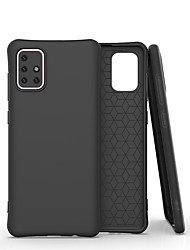 cheap -For Samsung Galaxy A01 / A21 / A41 / A51 / A71 / A81 / A91 Case Liquid Silicone Rubber Skin Feel Soft Back Shockproof Covers For Galaxy   S20 / S20 Plus / S20 Ultra / S10Lite / S10E/ S10 5G/ S10 Plus