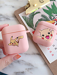 cheap -Pokemon Pikachu Wireless Bluetooth Earphone Case For Apple AirPods Silicone Headphones Cases For Airpods1/2 Protective Cover