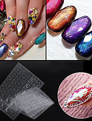 cheap -1 pcs Foil Sticker Creative nail art Manicure Pedicure Multi Function / Durable Simple / Basic Daily