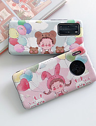 cheap -Case For Huawei Huawei Nova 4 Huawei nova 4e Huawei P40 Shockproof Back Cover Cartoon TPU