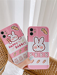 cheap -Japanese Cartoon cute rabbit doll Phone Case For iPhone XS 11 Pro MAX case silicone cover For iPhone 7 7Plus 8 Plus X XR xs 2020 Case