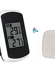 cheap -Anself LCD Digital Wireless Indoor Outdoor Thermometer Temperature Measurement Ambient Weather Tester