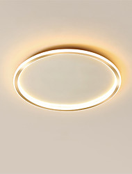cheap -50 cm Geometric Shapes Flush Mount Lights Metal Painted Finishes Contemporary Nature Inspired 110-120V 220-240V