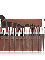 cheap -Professional Makeup Brushes 18pcs Soft Artificial Fibre Brush Plastic for Foundation Brush Eyeshadow Brush Makeup Brush Set