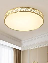 cheap -40 cm Geometric Shapes Flush Mount Lights Metal Brass Modern 110-120V / 220-240V