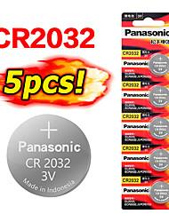 Недорогие -5 шт. Cr2032 новый кнопочный элемент батареи 3 В монета литиевые игрушки калькуляторы пульт дистанционного управления калькулятор cr2032