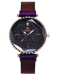levne -Dámské Digitální hodinky Módní Černá Slitina čínština Digitální Růžové zlato Černá Vodní modrá Hodinky na běžné nošení 30 m 1 ks Analogové Jeden rok Životnost baterie