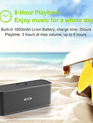 cheap -New Released! EWA W300 Bluetooth Speaker of 2*6W Power 4000mAh Battery Wireless Portable Speaker For Travel Outdoor Party