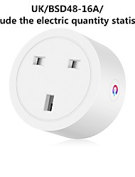 cheap -Smart Plug WiFi Enabled US/EU/UK Socket Remote Control Outlet Home Appliances