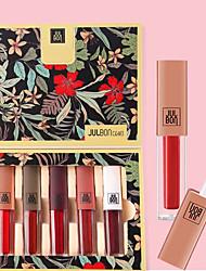 cheap -Lip Gloss Wet Long Lasting Waterproof Beauty Daily Wear Office & Career / Matte