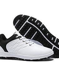 cheap -Men's Golf Shoes Anti-Slip Breathable Sweat wicking Comfortable Golf Outdoor Exercise Spring, Fall, Winter, Summer Black / Red White Black Blue / White