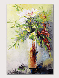 cheap -Mintura Original Hand Painted Modern Abstract Knife Flowers Oil Paintings on Canvas Wall Picture Pop Art Posters For Home Decoration Ready To Hang