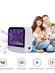cheap -Electric Shock Mosquito Killer Lamp Insect Bug Zapper Repellent Trap Night Light Baby Protector