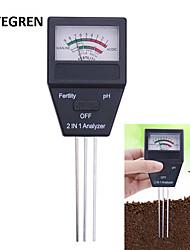 cheap -Pointer Type Soil Analyzer Farm Soil Fertile Meter PH Tester for Gardening Planting 2 in 1 Analyzer Instrument
