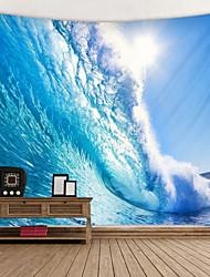 economico -sole cocente stampato arazzo decor wall art tovaglie copriletto coperta da picnic coperta da spiaggia arazzi colorato camera da letto sala dormitorio soggiorno impiccagione