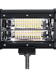 Недорогие -5-дюймовый 72 Вт светодиодный рабочий свет бар строб-вспышка лампы белого янтаря для внедорожных внедорожников atv