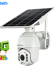 cheap -DIDSeth 4G Solar panel Power IP Speed Dome Camera P2P Mobile Control Solar Charge 4G  IP PTZ Cameras Cloud Storage 4G Camera