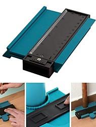 cheap -5inch  Contour Profile Gauge Tiling Laminate Tiles Edge Shaping Wood Measure Ruler ABS Contour Gauge Duplicator