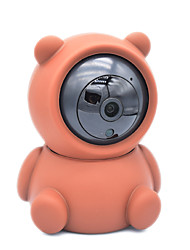 cheap -1950P 5MP Mini Security IP Camera Bear Monitor Indoor Wireless PTZ IP Camera baby Nanny Home wifi camera Lovely shell replacement