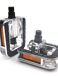cheap -mi.xim Bike Pedals Safety Convenient Sports 2 Bearing Aluminum Alloy Steel for Cycling Bicycle Road Bike Mountain Bike MTB BMX Silver / Black